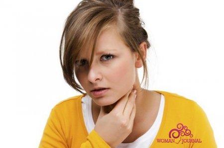 симптомы ангины при ГВ