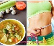 Похудение на супе