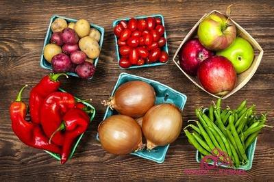 похудеть на фруктах и овощах