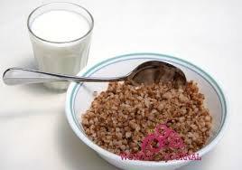 гречка + молоко