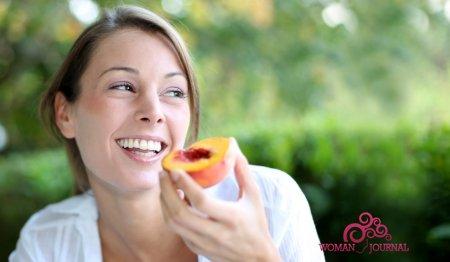 кушать персики
