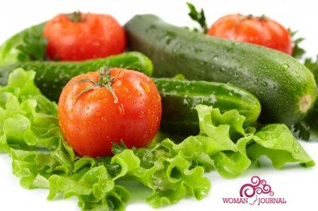 похудеть на салате из огурцов и помидоров