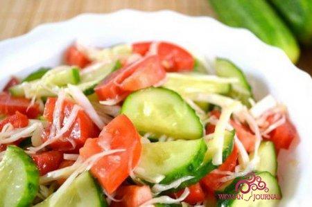 диета на овощном салате