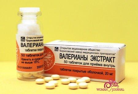 Таблетки экстракт валериана