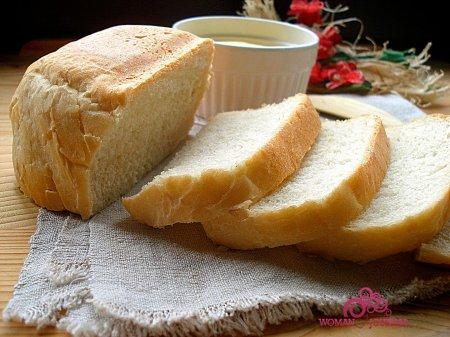 Пшеничный белый хлеб