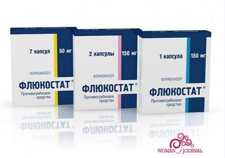 Таблетки от молочницы Флюкостат
