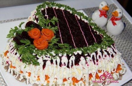 Сельдь под шубой – бюджетная закуска для праздничного настроения