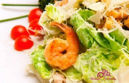 Салат с креветками. 5 лучших рецептов