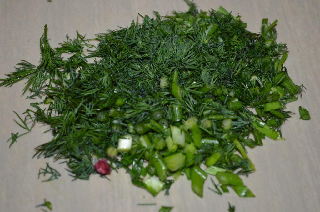 зелень для куриного супа фото
